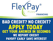FlexPay Plus financing logo